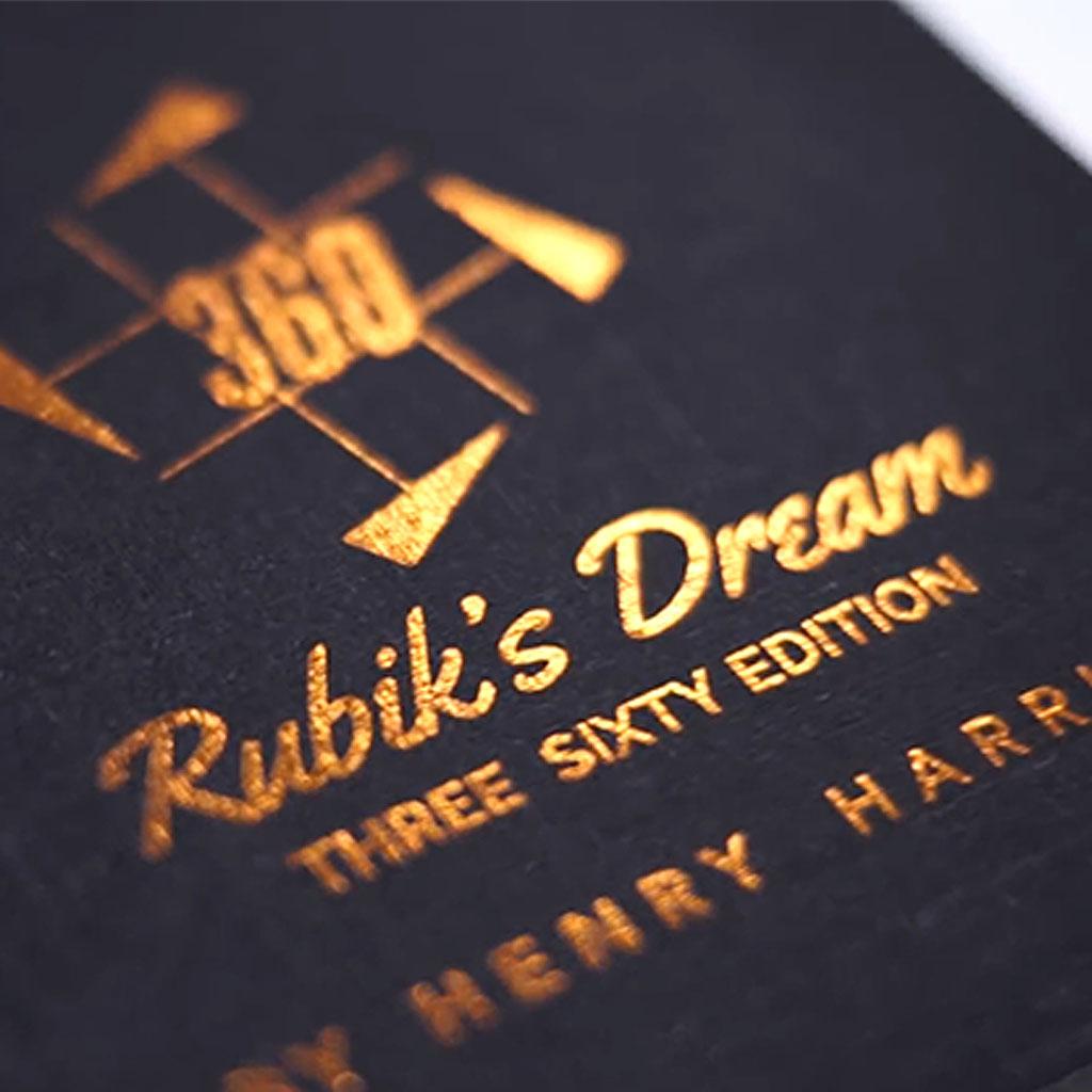 RUBIK'S DREAM - new 360 edition - Henry Harrius