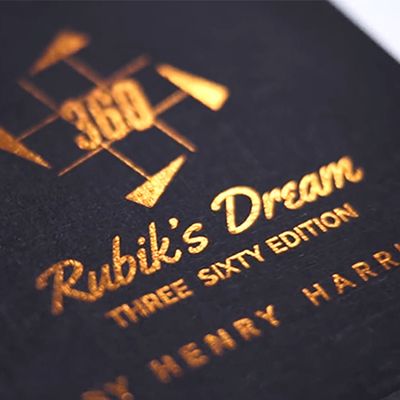 RUBIK'S DREAM - new 360 edition - Henry Harrius