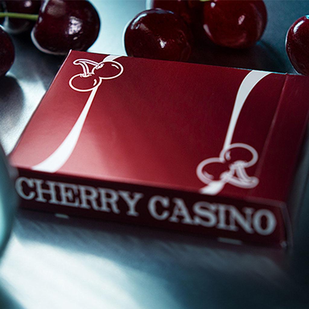 CHERRY CASINO PLAYING CARDS (Reno Red)