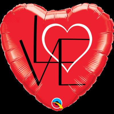 LOVE FOIL HEART