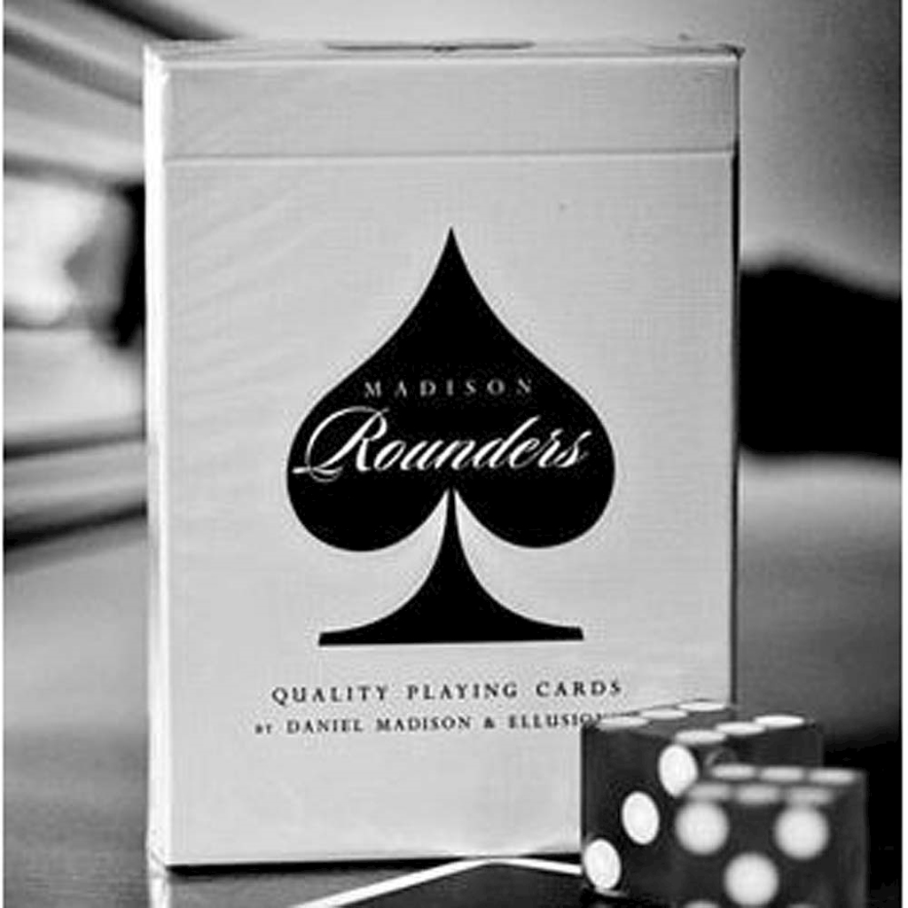 ROUNDERS PLAYING CARDS - black