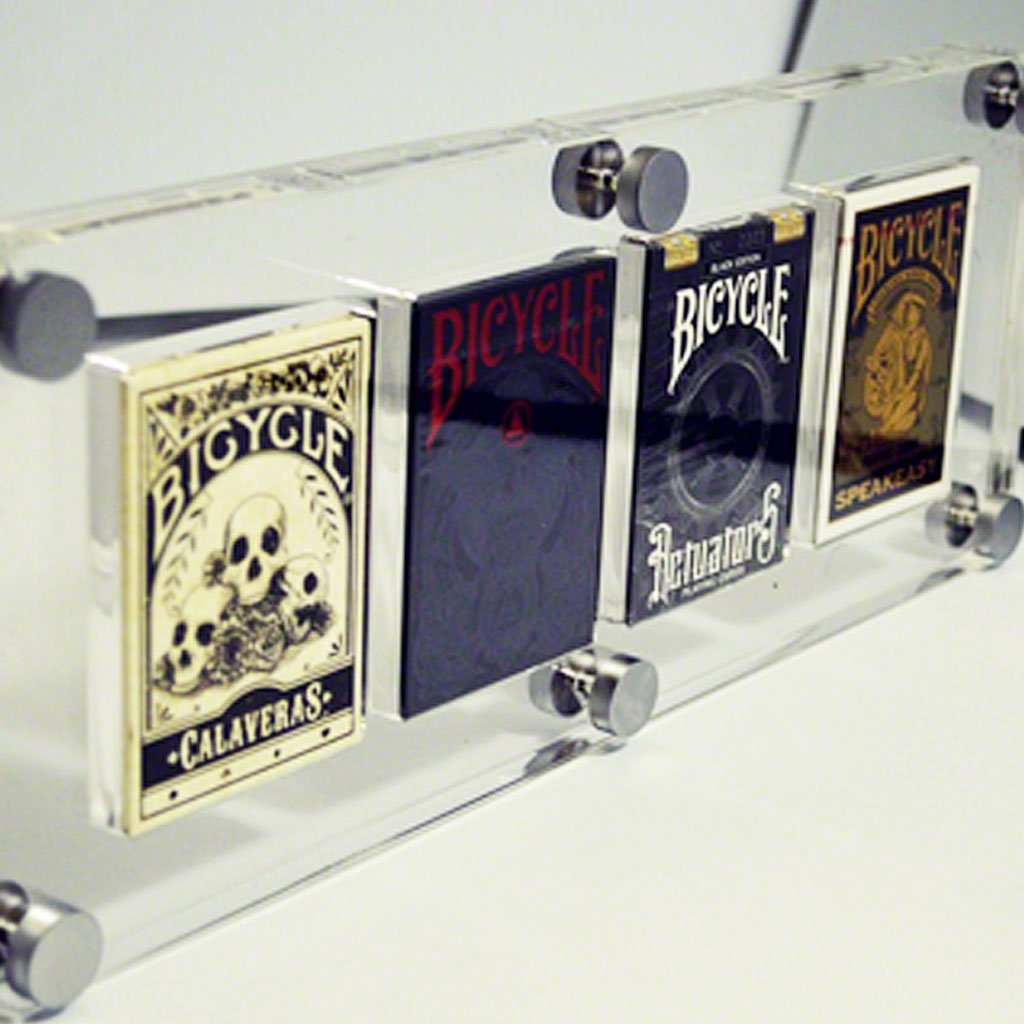 4 DECK CARD DISPLAY