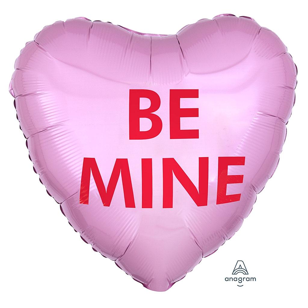 BE MINE BALLOON HEART
