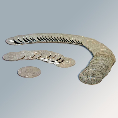 NIELSEN PALMING COIN - each