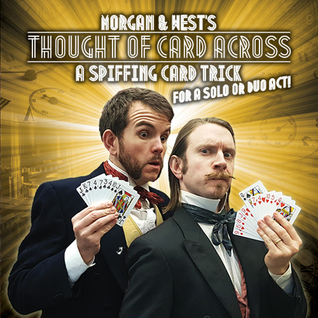 THOUGHT OF CARD ACROSS - Morgan & West