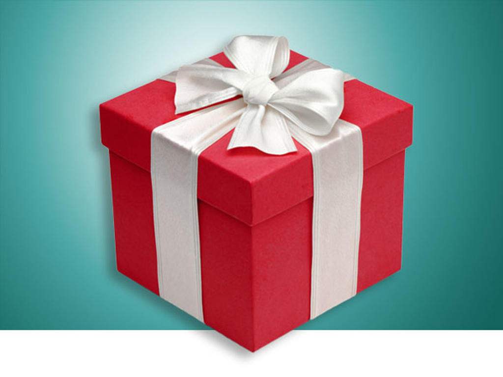 WANT TO GIVE A PRESENT?