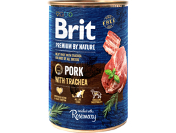 BRIT PREMIUM BY NATURE SVINEKØD HUNDEFODER
