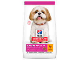 HILL'S SCIENCE PLAN MATURE ADULT 7+ SMALL & MINIATURE CHICKEN HUNDEFODER