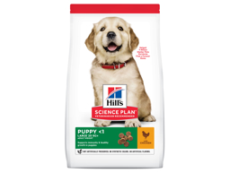 HILL'S SCIENCE PLAN PUPPY LARGE BREED CHICKEN HUNDEFODER