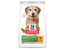 HILL'S SCIENCE PLAN YOUTHFUL VITALITY  MINI ADULT 7+ CHICKEN HUNDEFODER