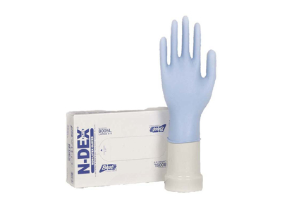NITRIL HANDSKE N-DEX PLUS  STR. L