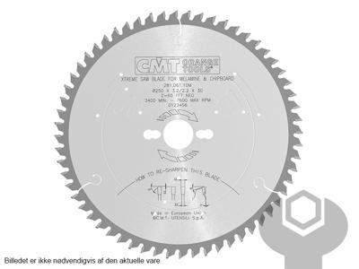 RUNDSAVKLINGE 250 X 3,2 X 30  MM Z60 3NEG CMT