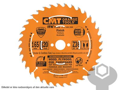RUNDSAVKLINGE 165 X 1,7/1,1 X 20 MM Z36 W CMT