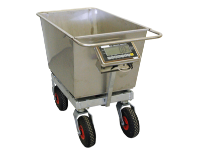 Piglets trolley with scale CBH