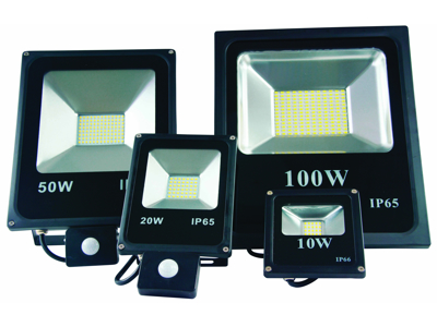 Floodlight 100W with sensor
