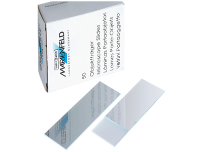 Microscope slides box 50 pcs.