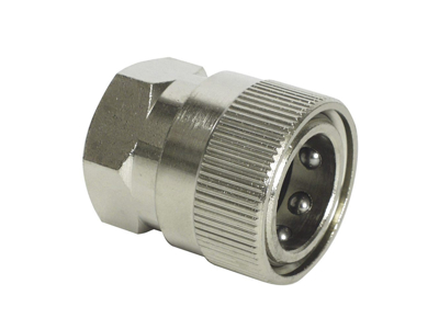 "Female coupling 3/8"" female thread 1pcs"