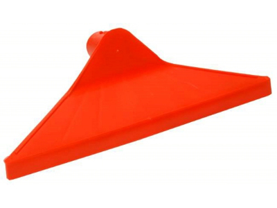 Møgskraber trekant rød