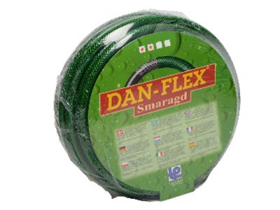 "Garden hose reinforced 1/2"" black-green 100 meter"