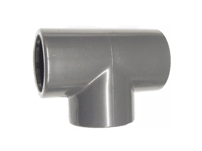 PVC tee 25 mm 1 stk.
