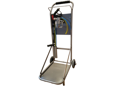 Desinfection trolley / without hose reel