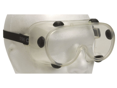 Dust glasses with ventilation