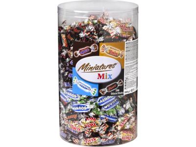 Chokolade Miniature Mix 3 kg