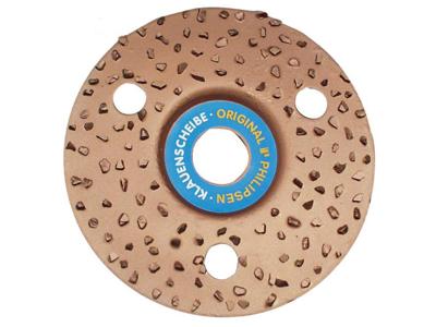 Hoof rasp for grinder Ø125 mm