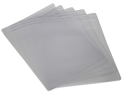 Plastic cover for sow cards