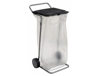 Randersbøren affaldsvogn med låg