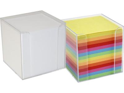 Blok Kubus hvid med holder