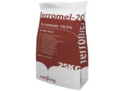 Jernsulfat/Ferromel 25 kg.
