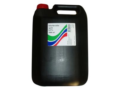 Chlorhexidine alcohol 5 ltr.