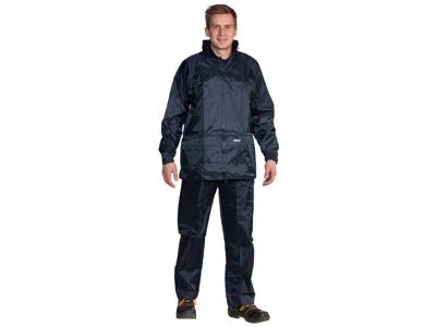 Rainwear lightweight blue