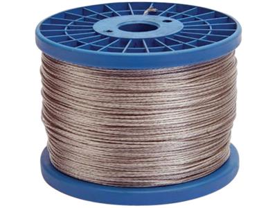 Galvaniseret wire el-tråd 400 meter