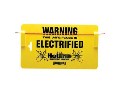 Advarselsskilt til el-hegn