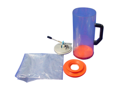 Ring kit for mixing cylinder