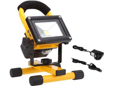 Floodlight LED with battery
