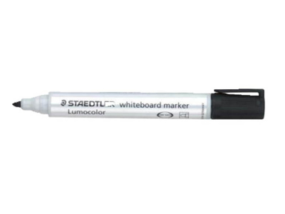 Whiteboardmarker 360 rund sort