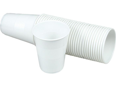 Automatic cup 21 cl white