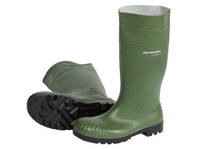 Dunlop Acifort sikkerhedsstøvle oliven