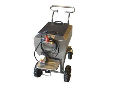 Varmevogn MG 100 liter/mixer