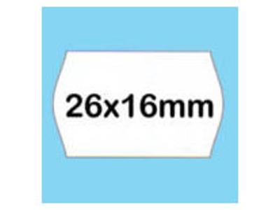 Etiketter 26x16 1000 stk.