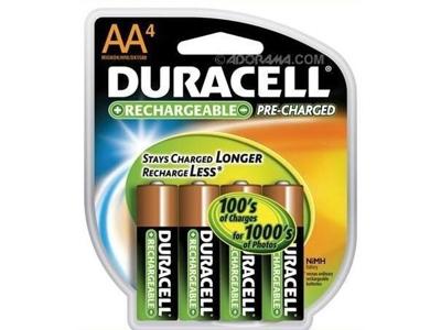 Batterier genopladeligt nimh (AA) 4 stk.