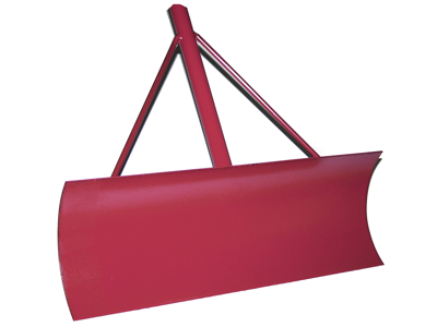 Galax -  red - scraper with 2 handles