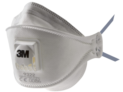 Støvmaske 3M FFP2S 1 stk.