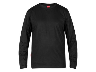 T-shirt langærmet sort