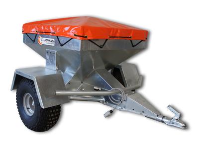 Fodervogn trailer TF galvaniseret 350 kg