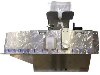 Unitron F3000 Fyldemaskine med pumpe til flatpack