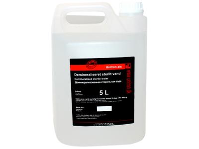 Demineraliseret sterilt vand 5 ltr.